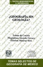 Cubierta para ¿Geografía sin geología?