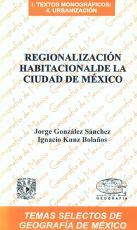 Cubierta para Regionalización habitacional de la Ciudad de México