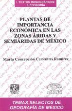 Cubierta para Plantas de importancia económica en las zonas áridas y semiáridas de México