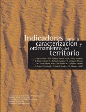 Cubierta para Indicadores para la caracterización y ordenamiento del territorio