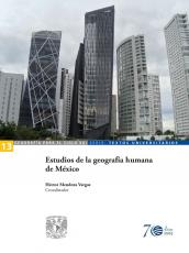 Cubierta para Estudios de la geografía humana  de México