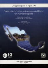 Cubierta para Diferenciación del espacio costero de México: un inventario regional