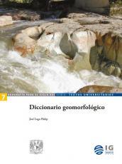 Cubierta para Diccionario geomorfológico