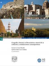 Cubierta para Geografía e historia en Iberoamérica: síntesis de su evolución y consideraciones contemporáneas