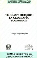 Cubierta para Teorías y métodos en Geografía Económica