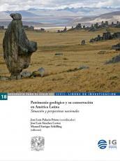 Cubierta para Patrimonio geológico y su conservación en América Latina: Situación y perspectivas nacionales